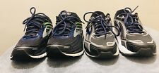 Two Pairs Of Brooks Glycerin 15 And Brooks Dyad 9 Men's Running Shoes Size 10