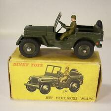 Dinky Toys France 80 BP Jeep Hotchkiss Willys olive MIB #3661