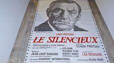 lino ventura LE SILENCIEUX  ! affiche cinema 1972