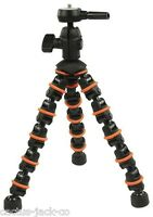 NEW CAMLINK TP-140 285MM LIGHTWEIGHT 309G FLEXIBLE 6 SECTION TABLE TRIPOD