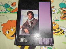 DIARIO Beautiful TV School Ware Agenda Vintage Diary