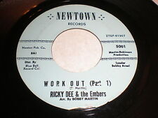 Ricky Dee and the Embers 45 Workout NEWTON