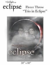 "Twilight - Eclipse Trio in Eclipse 50"" x 60"" Fleece Throw Blanket (Neca) #New"