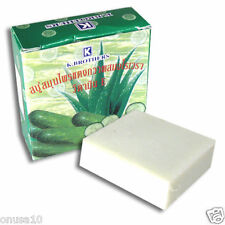 K-BROTHERS Cucumber and Aloe Vera Anti-Aging Cleanser Soap 4 bars