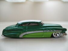HOT WHEELS - LARRY'S GARAGE - SO FINE BUICK CUSTOM REAL RIDERS - DIECAST