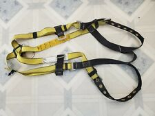 New listing Clean Msa Workman Vest Style Full Body Safety Harness 400 Lb. Capacity Large