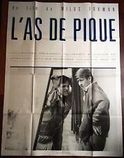 Affiche cinéma originale L'as de pique format 120 x 160 Milos Forman