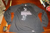 Chicago Blackhawks 2010 Stanley Cup SPEED WICK LONG SLEEVE SHIRT XL MENS