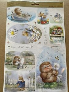 Country Companions Sunshine Meadows A4 Die Cut Toppers