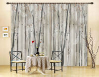 Ethereal Forest Butterfly 3D Curtain Blockout Photo Print Curtains Drape Fabric