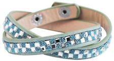 Wickel Modeschmuck-Armbänder aus Leder