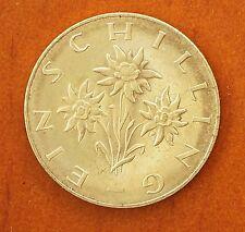 1964 Austria 1 Schilling KM# 2886 Prooflike Luster BU Coin