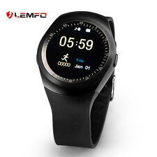 Lemfo Bluetooth Wireless Deporte Reloj Inteligente podómetro Para Android IOS