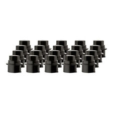 20 New Black Plastic Wheel Lug Nut Caps - Replaces GM 9593028/9593228