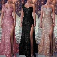 Maxi Dress Prom Evening Long Cocktail Women Formal Sexy Ball Gown Wedding Party