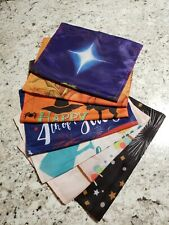Set Of 7 Seasonal/Holiday Decorative Garden Flags/Banners