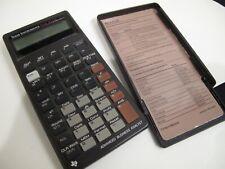 Vintage Texas Instruments Ti Ba Ii Plus Business Analyst Financial Calculator *
