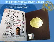 International Drivers License ITAC-Club.com 1yrs (NEW)