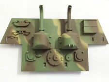 HengLong 1/16 Scale Henschel King Tiger Rc Tank 3888A Plastic Rear Plate Panel