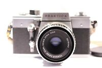 PRAKTICA LTL3 35mm SLR Film Camera + CARL ZEISS JENA DDR TESSAR 2.8 / 50 M42