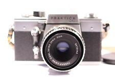 PRAKTICA LTL3 35mm SLR Film Camera + CARL ZEISS JENA DDR TESSAR 2.8 / 50 M42