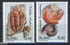 Aland/Åland 1996, Fossils full set MNH