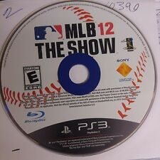 MLB 12: The Show (Sony PlayStation 3)(DISC ONLY)(NO CASE)#10390