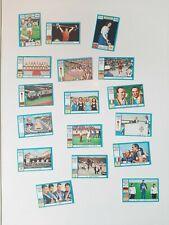 Panini Olympia 1896 - 1972 17 stickers in good shape RARE
