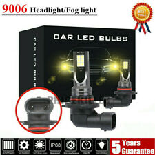9006 LED Headlight Kit 110W 20000LM FOG Light Bulb 3000K Driving DRL Lamp Yellow