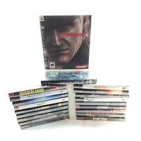 Huge Lot Bundle of 20 PS3 (Sony, PlayStation 3) Video Games - Great Titles!