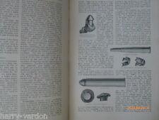 Old antique illustré articles Munitions Balle Fusil & Pêche Pêche 1911