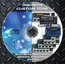 6.300 Patches DIGITECH. GNX1-GNX2-GNX3-GNX4-Genesis.3-GNX3000-GSP1101 Library