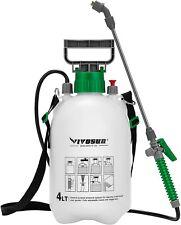 Vivosun 1 Gallon Lawn and Garden Pump Pressure Sprayer with 3 Water Nozzles