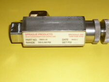 Sprague Products Systems Safety Relief Valve 78051-31 500 - 5000 PSI