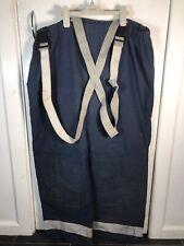 More details for bristol gore-tex fire service fighter fireman hi vis reflective trousers large