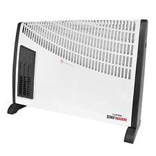 Elettrico Termoconvettore Riscaldamento Ventola 2KW Portatile Piano Freddo Caldo