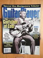 Guitar Player Magazine - Aug 1998 - Wes Montgomery  Sonic Youth ++