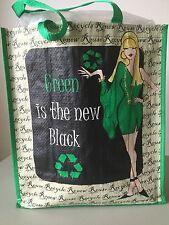 """Reusable Bag Tote Eco-Friendly NWT HUGE  15L"""" 14 1/2 W 7 1/2 D"""" Lot Of X4"""