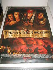 PIRATES OF THE CARIBBEAN CURSE OF THE BLACK PEARL 27x40 DS MOVIE POSTER (537Y)