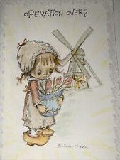 Vintage Hallmark Charmers Betsey Clark Get Well Greeting Card W/ Envelope~Unused