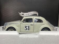 Hotwheels 1/18 VW BEETLE HERBIE ELITE EDITION Very Detailed And RARE