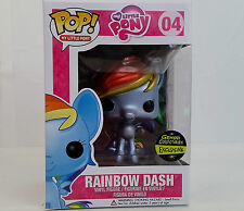 New Funko Pop Rainbow Dash Metallic My Little Pony Gemini Vinyl Figure Toy Horse