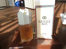 Rare Perfume Number No Gucci # 3 100ml Women Eau De Toilette Spray 3.3oz 1994 34
