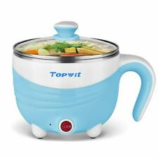 Electric Hot Pot 1.5L Rapid Noodles Cooker Cook Perfect for Ramen for Student