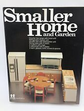 TOMY Smaller Home and Garden Kitchen Stove Refrigerator Table Chairs NOS