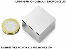 Neodymium Block Magnet N45 30 X 30 X 15mm Very Powerful NEO Magnets For Mro DIY