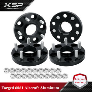 4PC 20MM Fit Civic CRV Wheel Spacers Hubcentric 5x4.5 5x114.3mm 12x1.5 Studs