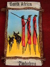 ฺSouth Africa Zimbabwe Masai African Fridge 3D Fridge Magnet Classic Souvenir