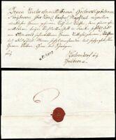 1799, ERLANGEN, kpl. Ganzfrankobrief nach Kochendorf bei Heilbronn (Hb € 80.00)