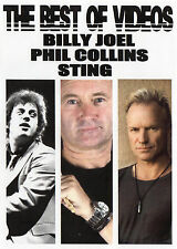 BILLY JOEL PHIL COLLINS STING THE BEST OF VIDEOS 39 VIDEO HITS ROCK POP BALLADS
